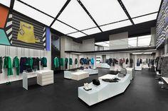 Emporio Armani store renewal by Giorgio Armani Paris  France