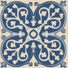 Ces stickers déco pour escaliers sont des adhésifs décoratifs pour contremarchereprésentant des carreaux de ciment bleus: Réf : 197013 Dimensions d'un adhésif contremarche : 19,5 x 100 cm 3 stickers contremarche