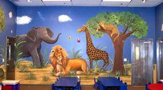 murals for scool libraries | Children murals - Mural Photo