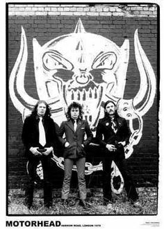 Motörhead Harrow Rd. 1979 Lemmy Larry Wallis Lucas Fox 24x36 Music Concert Poster Print Rare Limited by Mypostergallery, http://www.amazon.com/dp/B00A4FQWXU/ref=cm_sw_r_pi_dp_YG7Nrb0PSZDF9