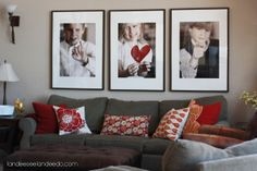 Valentine Photo Decoration [Decorating for Valentine's Day] ~ Be Different...Act Normal