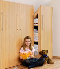 armadio angolare fai da te, armadio angolare, costruire un armadio, armadio per mansarda, armadio ad angolo