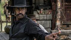 Szene aus Die glorreichen Sieben: Denzel Washington©Sony Pictures…