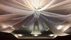Wedding Decorations - Ceiling Drapes