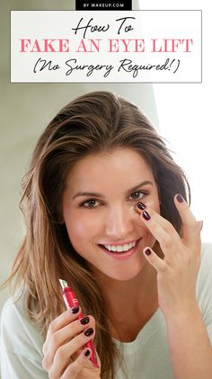 Considering the eye area is the most sensitive and prone to lines and wrinkles, it's no surprise they're usually the first to give our age away. While, some turn to plastic surgery to keep their peepers youthful and taut, there are other less invasive avenues we can take that are just as effective. Check out how our tips on how to fake an eye lift, sans surgery!