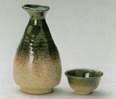 若草織部徳利1.5号&徳利0.8号&グイ呑