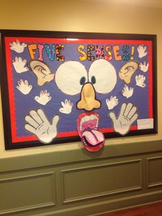 Professor Juce: Five Senses for Early Childhood Education Five Senses Preschool, My Five Senses, Body Preschool, Senses Activities, Preschool Themes, Science Activities, Toddler Activities, Preschool Activities, Nurse Bulletin Board
