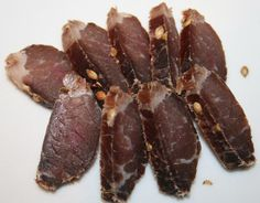 A great South African classic. Although many people compare American Jerky with South African Biltong, it is just not the same thing. I helped my Dad. Microwave Peanut Butter Fudge, Peanut Butter Recipes, Fudge Recipes, Candy Recipes, South African Recipes, Ethnic Recipes, Biltong, Almond Bark, Best Food Ever