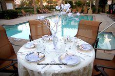 28 Inches White Wedding Manzanita Tree Centerpiece  I have decorated this 28 Inches White Wedding Manzanita Tree Centerpiece with white wedding bells,
