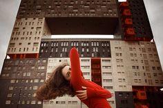 Urban self-portraits by Anna Di Prospero