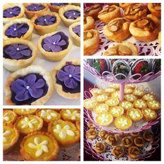 Bridal Tea Mini Desserts: Sweet Potato Tarts, Lemon Tarts, and Tea Time Tassies #bakeshopoakland #mini #treats http://www.bakeshopoakland.com/