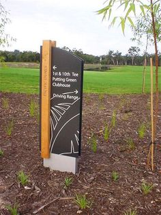 Exterior signage donor wall ideas for 2019 Park Signage, Directional Signage, Wayfinding Signs, Outdoor Signage, Environmental Graphic Design, Environmental Graphics, Exterior Signage, Wall Exterior, Monument Signs