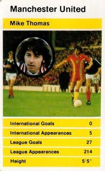 1980 Top Trumps British Stars Set 2 #NNO20 Mike Thomas Front