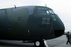 The nose of USAF 41638 is pictured at RAF Greenham Common on July C 17 Globemaster Iii, Cargo Aircraft, Military Aircraft, C130 Hercules, Ac 130, Ford Torino, Flying Boat, Air Planes, Us Air Force