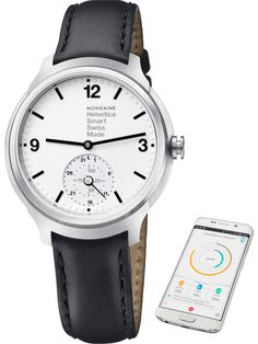 Mondaine Watch Helvetica No1 Smartwatch Pre-Order #basel-15 #bezel-fixed #bracelet-strap-leather #brand-mondaine #case-depth-mm #case-material-steel #classic #date-yes #delivery-timescale-call-us #dial-colour-white #gender-unisex #movement-quartz-battery #new-product-yes #official-stockist-for-mondaine-watches #packaging-mondaine-watch-packaging #pre-order #pre-order-date-30-11-2015 #preorder-november #smart-watch #style-dress #subcat-helvetica #subcat-horological-smartwatch…