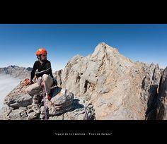 Escalada en los Picos de Europa. Desde la Aguja de la Canalona | Cantabria | Spain