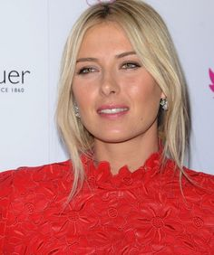 Maria Sharapova Choppy Bob Hairstyles