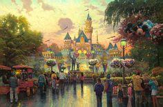 Disneyland, 24 peintures d'amateur plus belles encore que les films Disney eux-mêmes - page 5