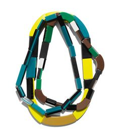 3-pack Necklaces $49.95  DESCRIPTION  Marni. Three chunky, elasticized plastic necklaces.  DETAILS  100% polyacrylic. -  Imported.  MARNI at H&M