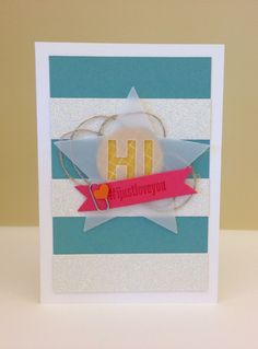 I found this on stampinup.com! Created by Concept Artist Melody Hyde! She is a ROCK STAR!