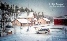 The railway station in Tolga - my home village . Train Station, Norway, Transportation, Landscapes, Urban, Spaces, Country, Outdoor, Paisajes