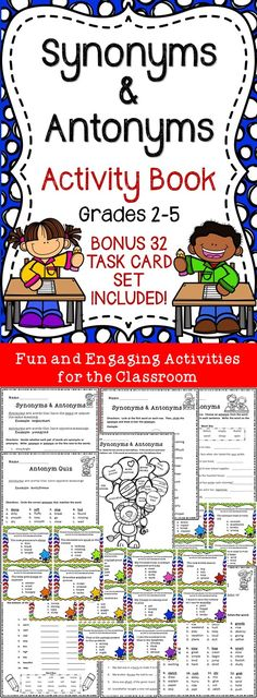 Increase Language Art Skills! 32 task cards included