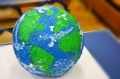 Globe - paper mache