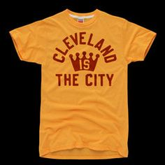 Cleveland Is The City Basketball Football T-Shirt | HOMAGE