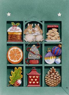CHRISTMAS GOODIES BOX by PETER CROSS