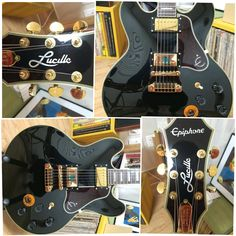 Epiphone Lucille B. B. King - 9jt Epiphone, Music Instruments, King, Guitar, Musical Instruments