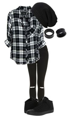 """""""my town//hollywood undead"""" by bands-are-my-savior ❤ liked on Polyvore featuring Topshop, Rails, AllSaints, NOVICA, Converse, women's clothing, women, female, woman and misses"""