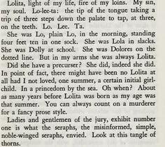 Lolita by Nabokov
