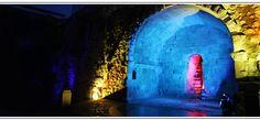 Foto noturna da cova de Salamanca