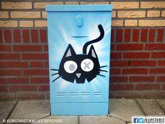 kunstkast lex berghuis Urban Street Art, Box Art, Holland, Painting, Dutch Netherlands, Painting Art, Netherlands, Paintings, The Netherlands