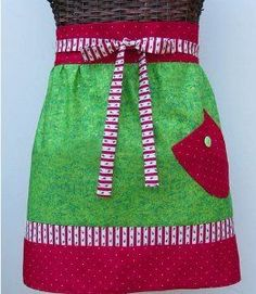 Christmas Apron | AllFreeSewing.com