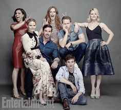 ❤ Lana Parrilla & Jennifer Morrison, Emilie de Ravin Rebecca Mader, Josh Dallas, Jared Gilmore, Colin O'Donoghue Once Upon A Time Comic Con 2016 July