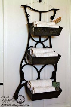 Panier serviette original
