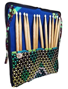 Madetoorder Drumstick Backpack Ties to Drum by MusicalMiscellany, $65.00