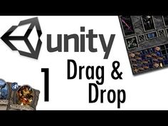 ▶ Unity Tutorial - Drag & Drop Tutorial #1 [RPGs, Card Games, uGUI] - YouTube