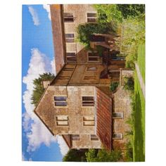 10 by 14 jigsaw - The Pottery, in the National Trust village of Lacock in Wiltshire - the pottery is still in use today