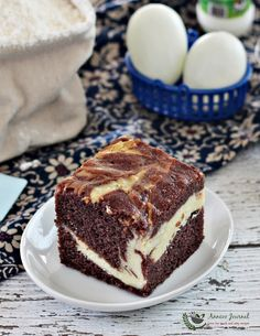 This Butter Chocolate Cheesecake was very yummy. The combination of cream cheese and chocolate butter cake was indeed perfect. The cake was very moist and even tasted better the next day. I did have some fun making this cake with a marble effect and enjoyed it. Thanks to Victoria for sharing this easy recipe and …