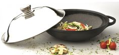 Eurocast/Berghoff Professional Cookware 12.25' Chinese Covered Wok with Lid * Want additional info? Click on the image.