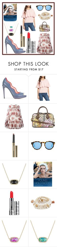 """""""be the best version of fashion"""" by kristen-stewart-2989 on Polyvore featuring Fendi, Soprano, Alexander McQueen, Gucci, Trish McEvoy, Illesteva, Kendra Scott, Assouline Publishing, Clinique and Lacey Ryan"""