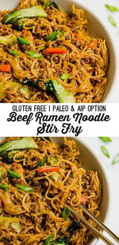 Dairy Free Recipes, Paleo Recipes, Asian Recipes, Dinner Recipes, Cooking Recipes, Dinner Ideas, Gluten Free Recipes Ground Beef, Gluten Free Lunch Ideas, Chinese Recipes