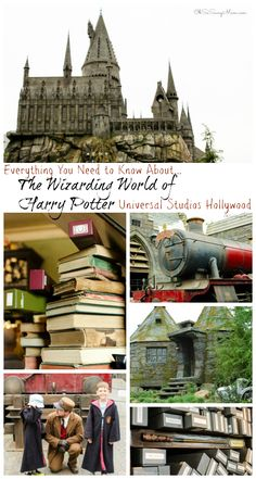 Everything you need to know about the Wizarding World of Harry Potter at Universal Studios Hollywood