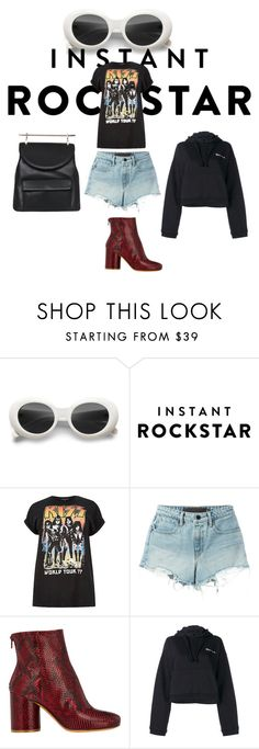 """Shades of You: Sunglass Hut Contest Entry"" by esposito-alicya on Polyvore featuring Alexander Wang, Maison Margiela, Vetements, M2Malletier and shadesofyou"