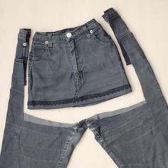 Baby Clothes Patterns, Clothing Patterns, Diy Fashion, Korean Fashion, Altering Jeans, Black Denim Shorts, Jean Shorts, Men's Shorts, Sweater Outfits
