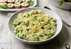 Electric Pressure Cooker Risotto with Peas and Meyer Lemon from Edible Silicon Valley blog.  I like the idea of this one, a lighter risotto.