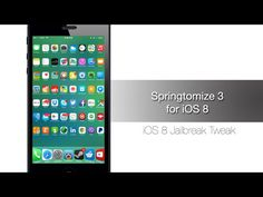 Springtomize 3 update for iOS 8 and iPhone 6/iPhone 6 Plus is out