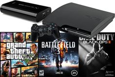 sebheloe: record PS3 footage of gta, cod, bf3 for $5, on fiverr.com